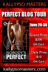 PERFECT BLOG TOUR to celebrate the release. Kallypso Masters is giving