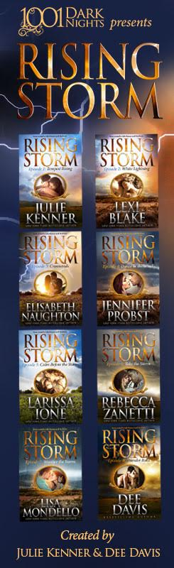 Rising storm banner